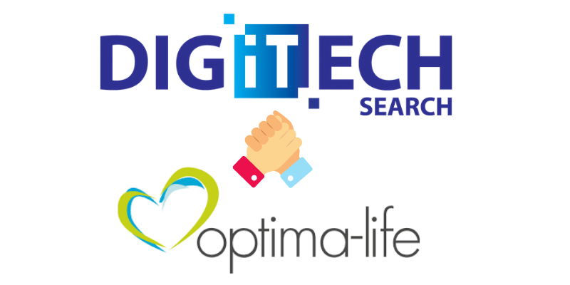 New Partnership - DigiTech Search & Optima-Life